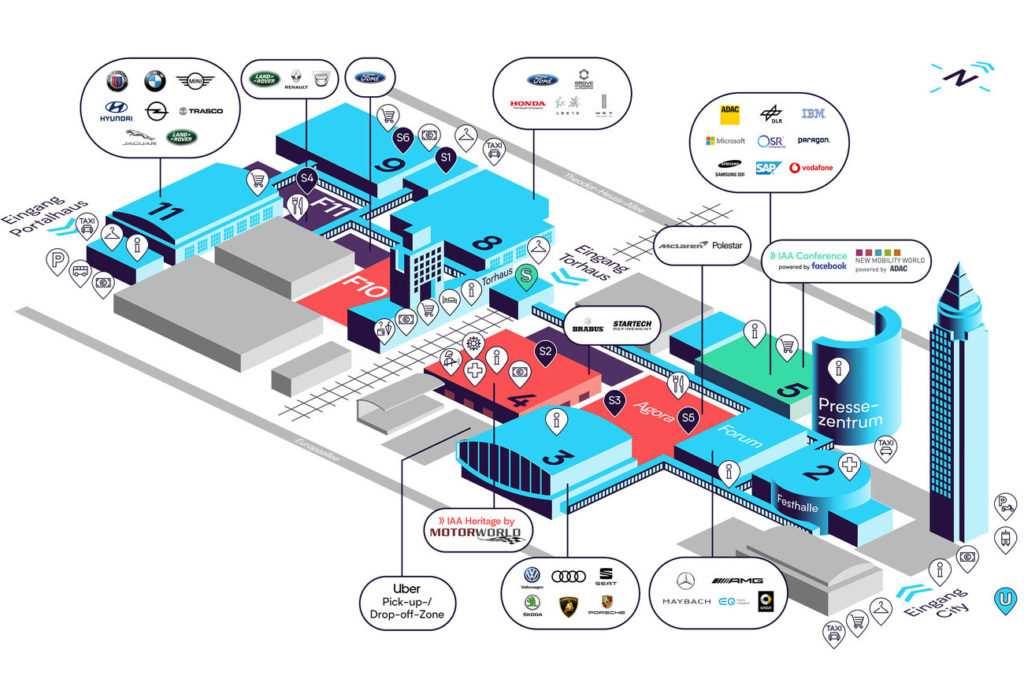 IAA 2019 Messeplan