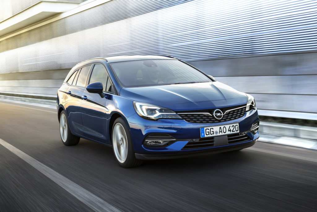 Opel Astra K Sports Tourer Facelift