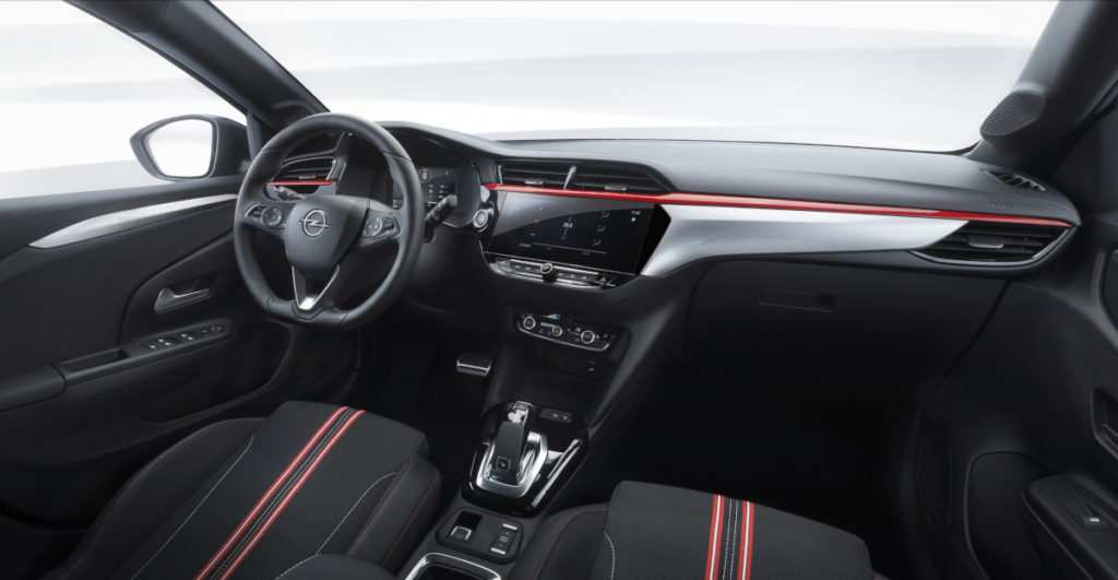 Opel Corsa F Interieur