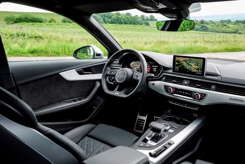 Audi S4 Avant B9: Innenraum