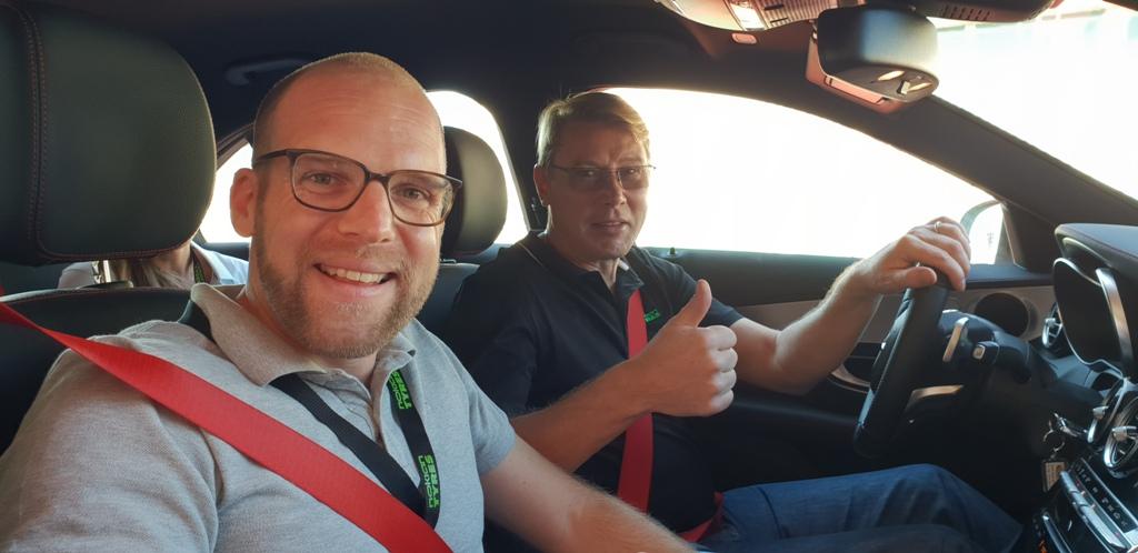 Daniel Przygoda und Mika Häkkinen