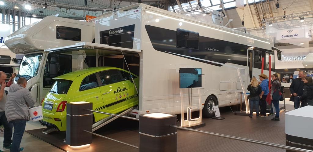 Comodore Luxus-Wohnmobil