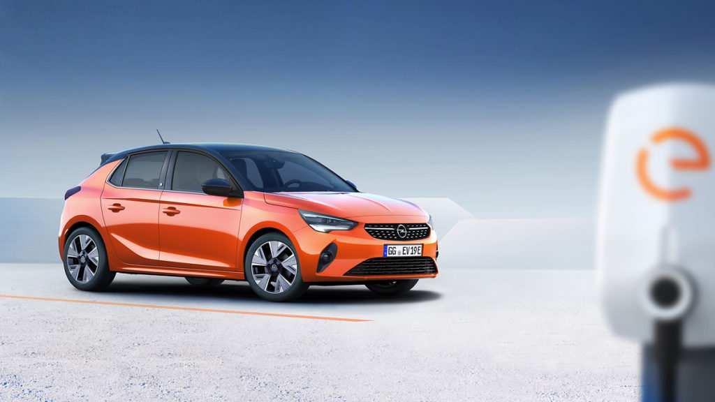 Elektro-Version vom neuen Opel Corsa