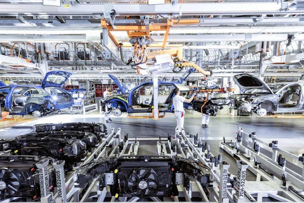 Audi Fahrzeugfertigung