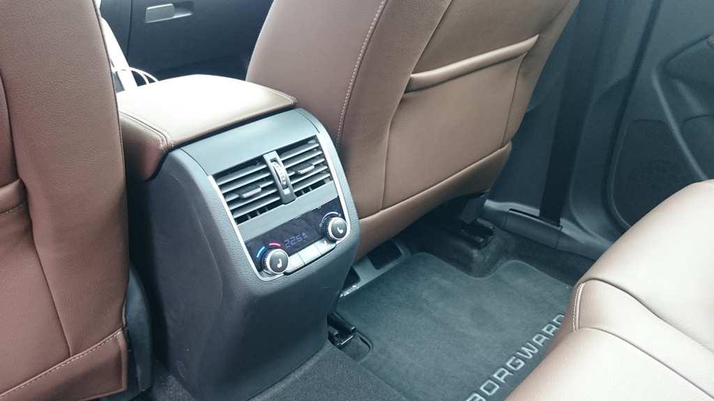 Klimaregelung und beheizbare Sitze hinten