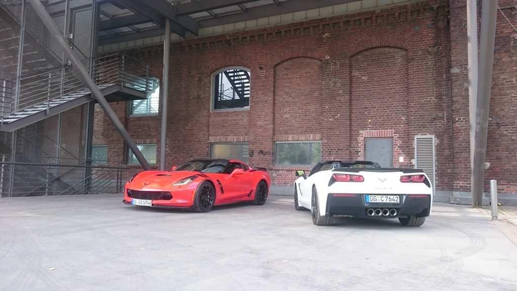 Corvette C7 Grand Sport und Corvette C7 Stingray.