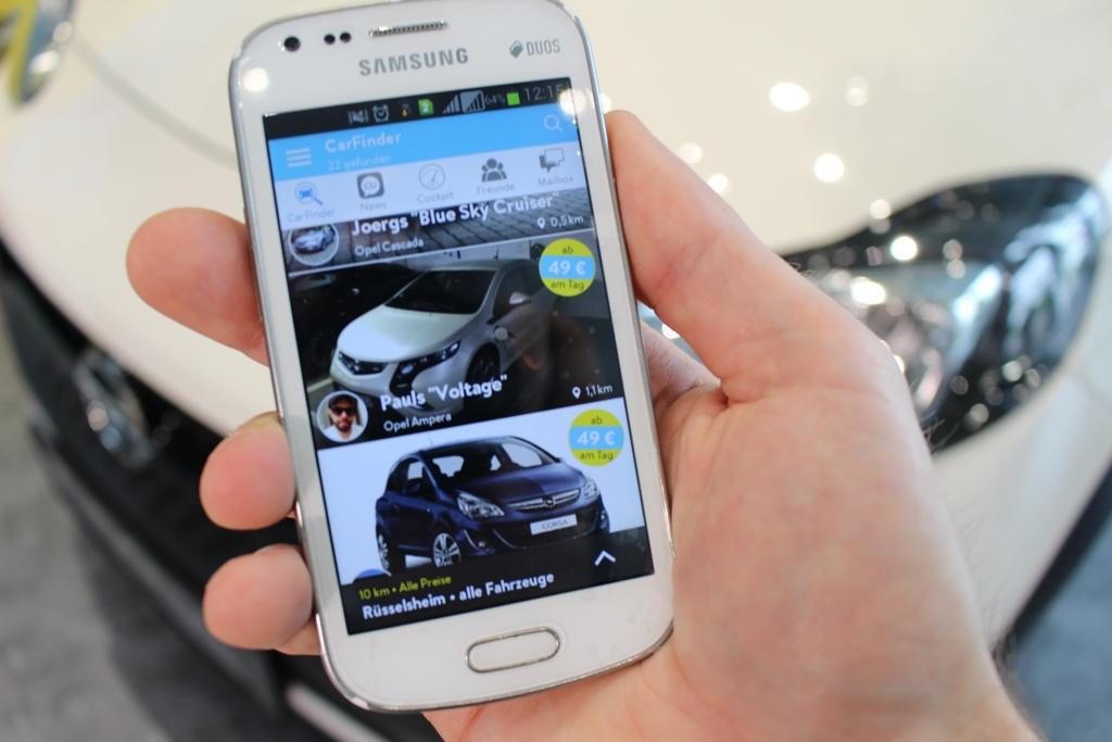 Opel CarUnity App