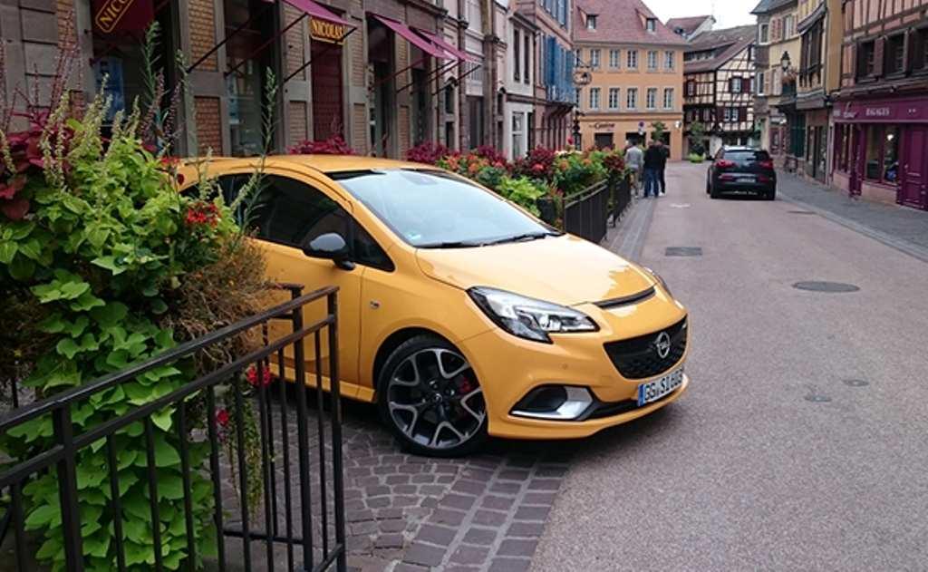 Opel Corsa GSi in Colmar, Frankreich