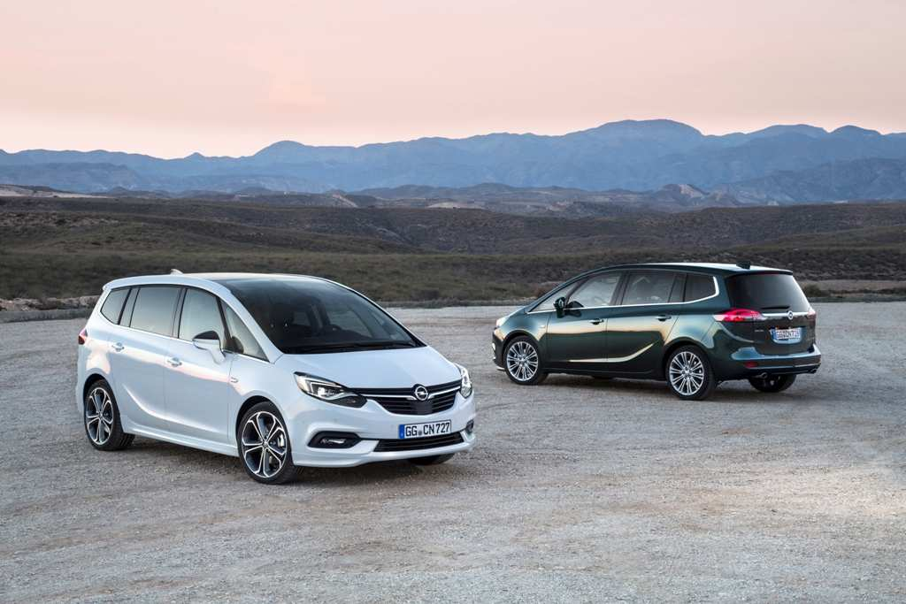 Opel Zafira Tourer - Facelift
