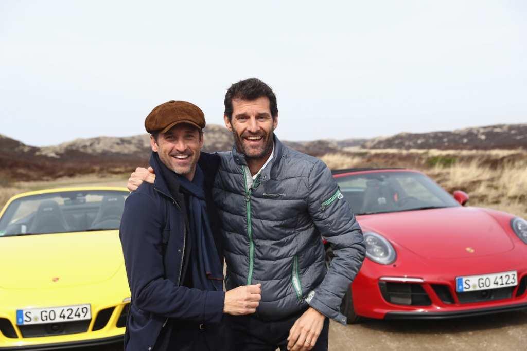Patrick Dempsey und Mark Webber