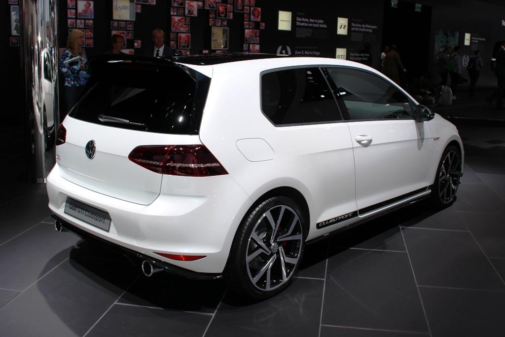 IAA: Volkswagen Golf Clubsport