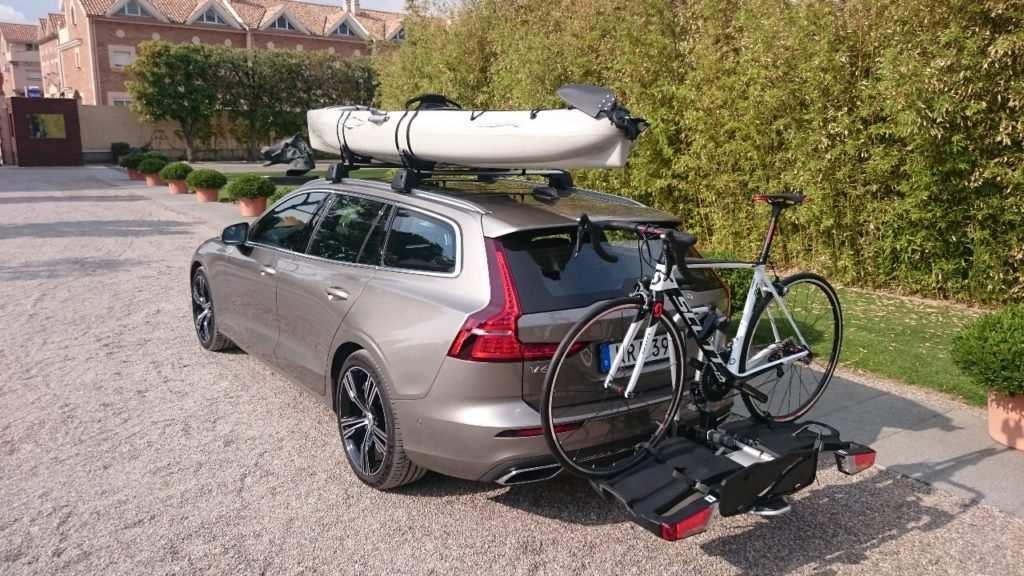 Fahrradträger und Dachgepäckträger