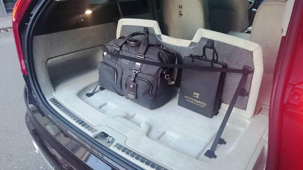 Ladungssicherung im Kofferraum