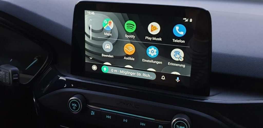 Android Auto im neuen Design