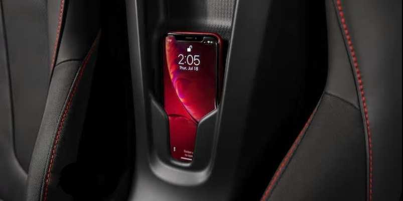 NFC Smartphone-Halterung