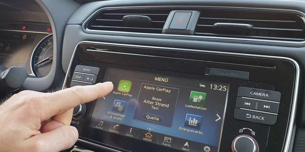 Konnektivität: Apple CarPlay