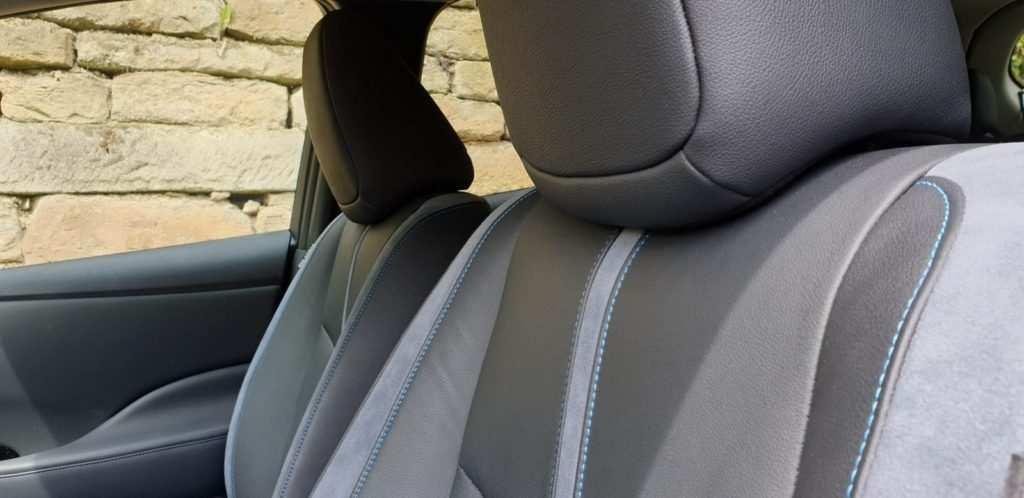 Nissan Leaf Tekan: Leder-Interieur