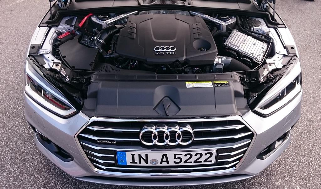 Audi A5 B9: V6 TDI