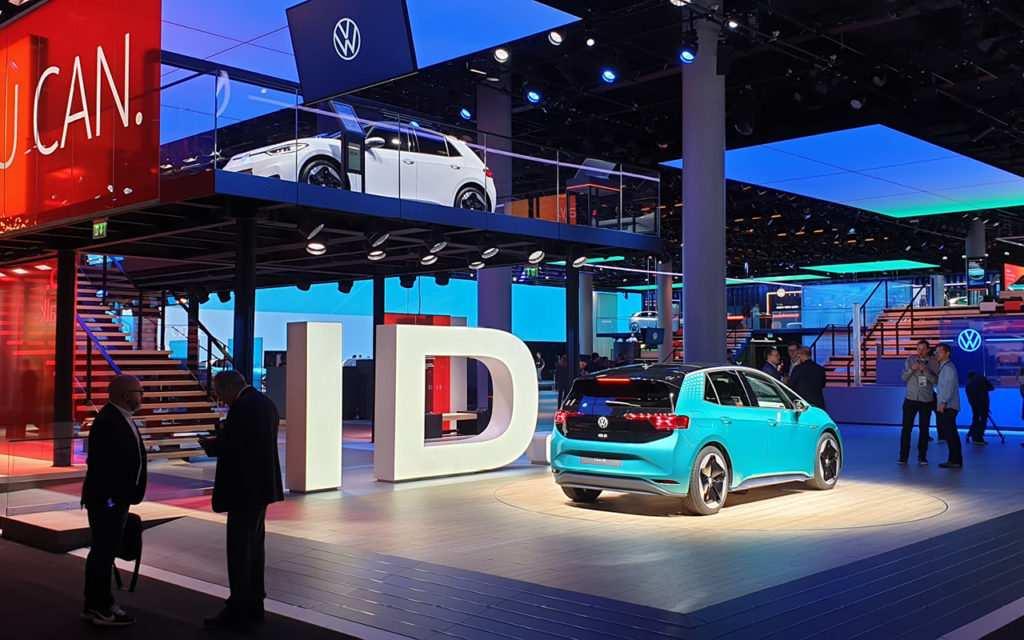 IAA 2019, Messestand Volkswagen