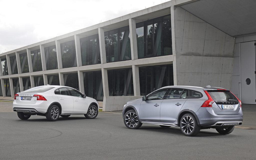 Volvo V60 und S60 Cross Country