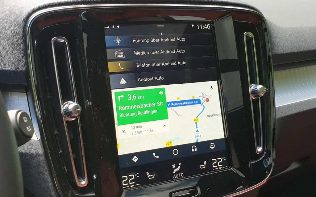 Konnektivität: Android Auto