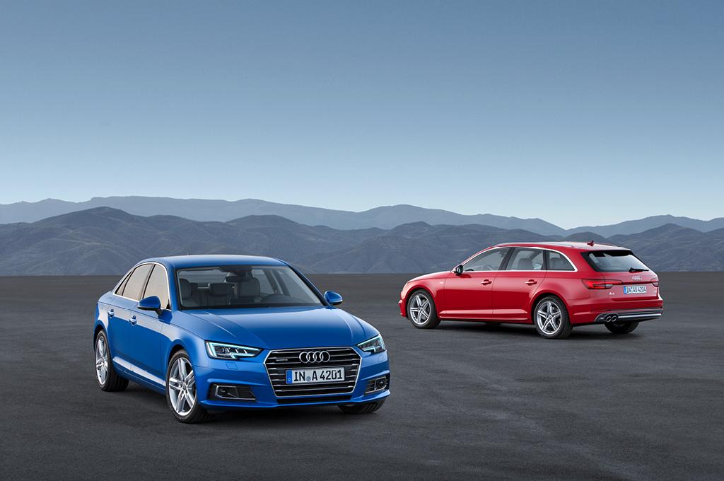 Audi A4 (B9), Limousine, Avant
