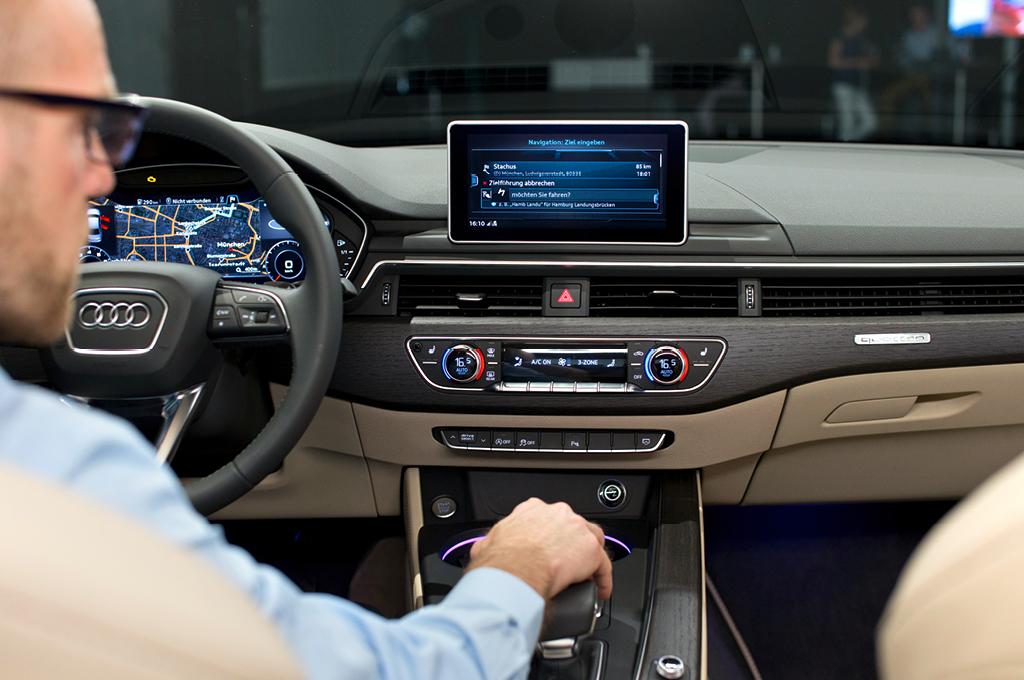 Audi A4 (B9), Daniel Przygoda, MMI, Interieur