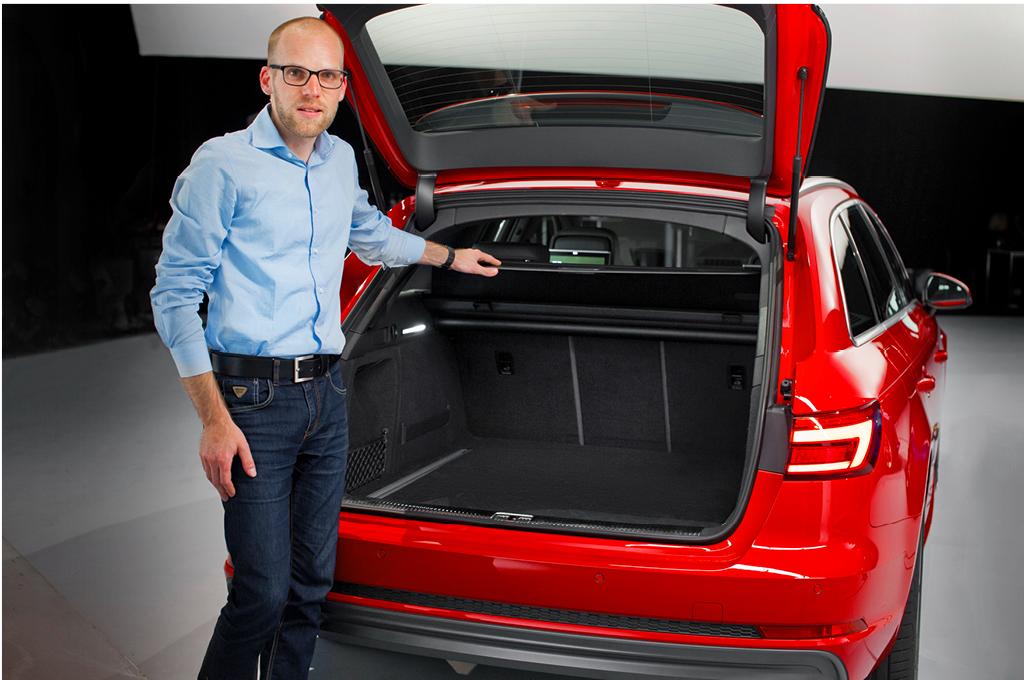 Audi A4 Avant (B9), Daniel Przygoda, Kofferraum