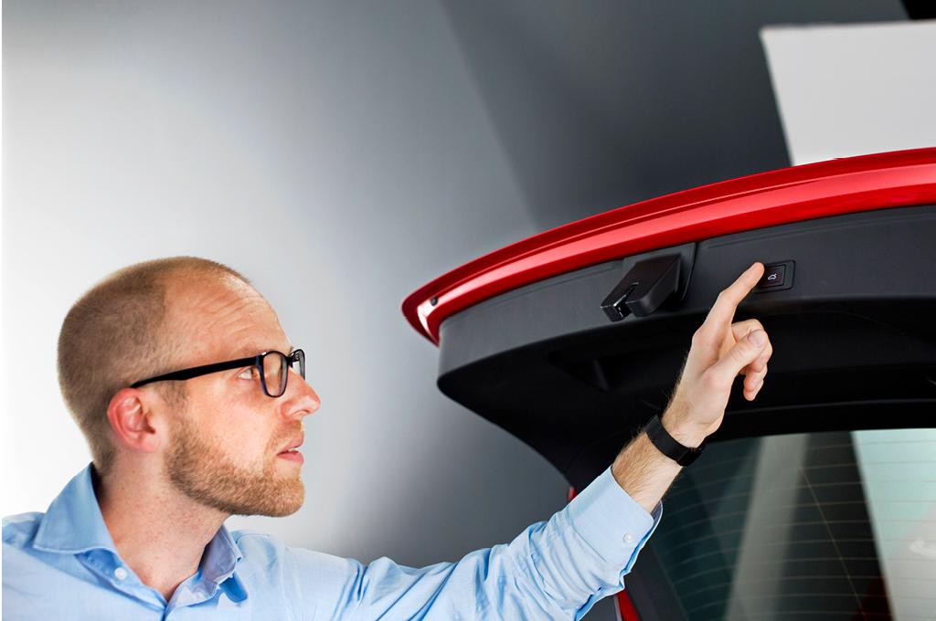 Audi A4 (B9), Daniel Przygoda, Kofferraum