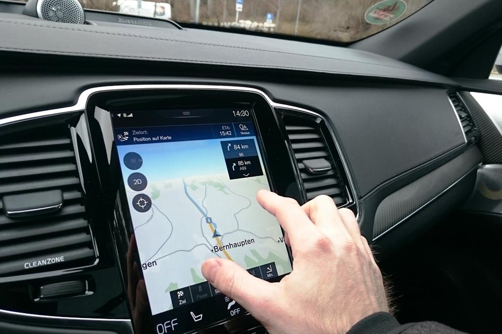 Navigationssystem Sensus Connect