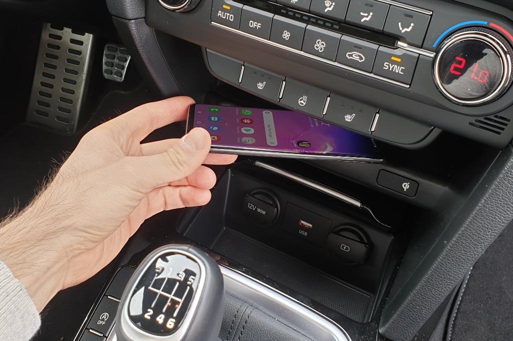Induktive Ladestation für Smartphones