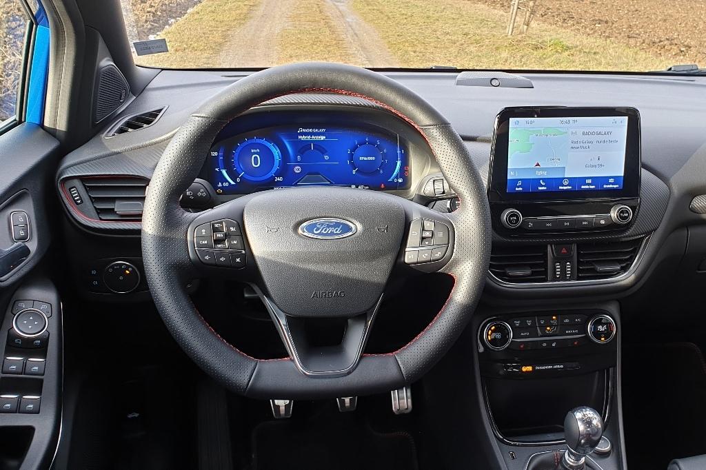 Ford Puma ST-Line: Sportlenkrad