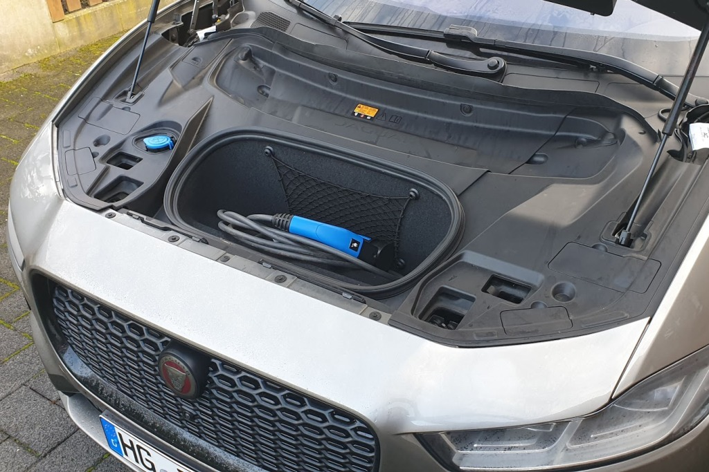 Jaguar I-Pace (2020) - Kofferraum vorne