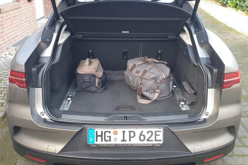 Jaguar I-Pace (2020) - Kofferraum