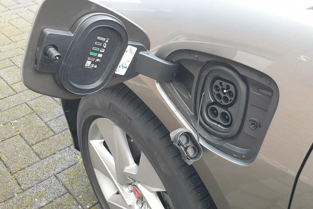 Jaguar I-Pace (2020) - Ladeanschluss