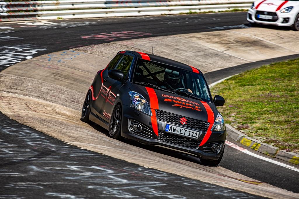 Rent4Ring: Suzuki Swift Sport Stage 2
