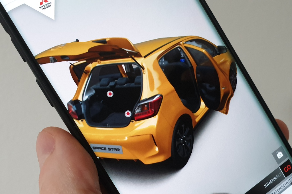 Space Star Erleben: Augmented Reality