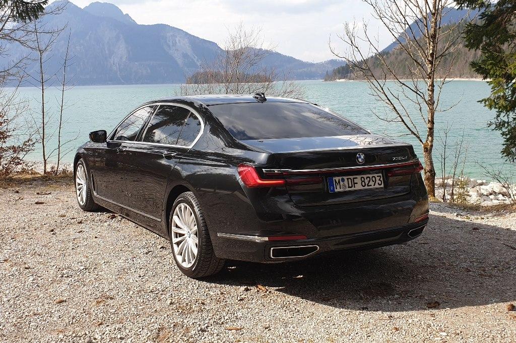 BMW 730Ld hinten