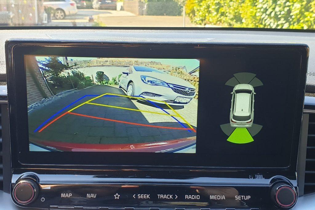 Kia ProCeed Rückfahrkamera Auflösung