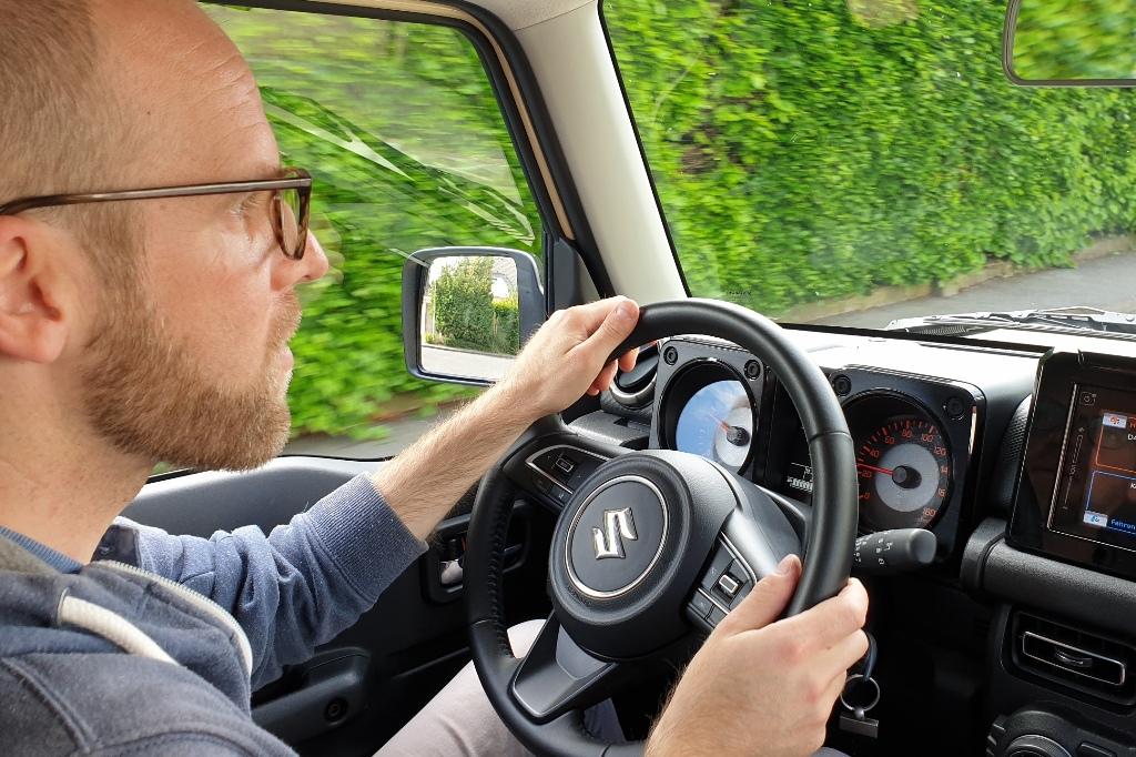 Fahreindruck im Suzuki Jimny 1.5 AllGrip, Daniel Przygoda