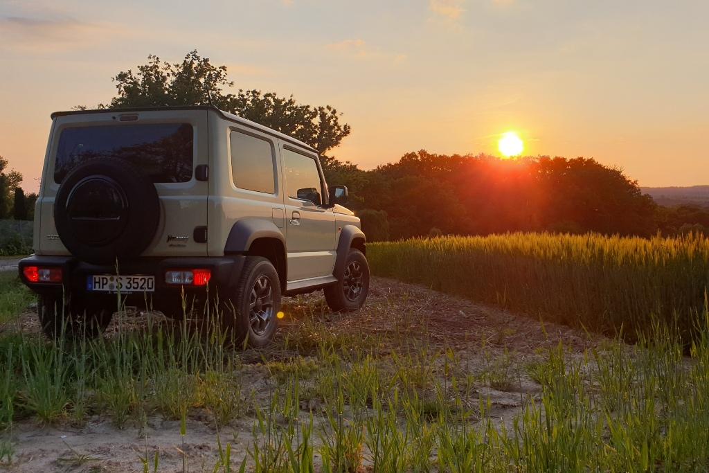 Abenteuer mit dem Suzuki Jimny