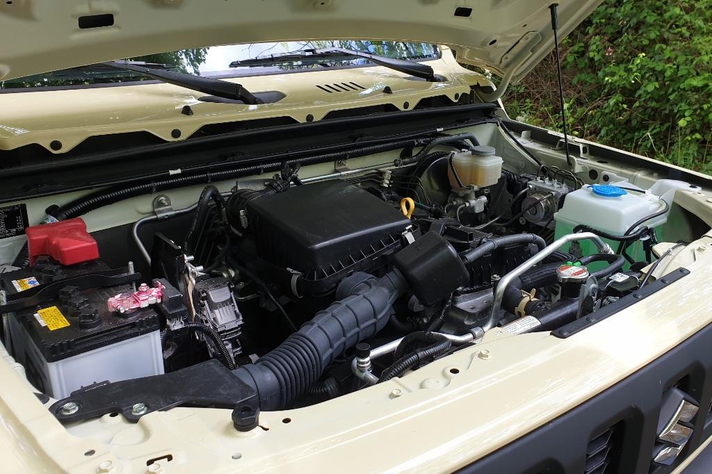 Saugmotor mit 102 PS im neuen Suzuki Jimny