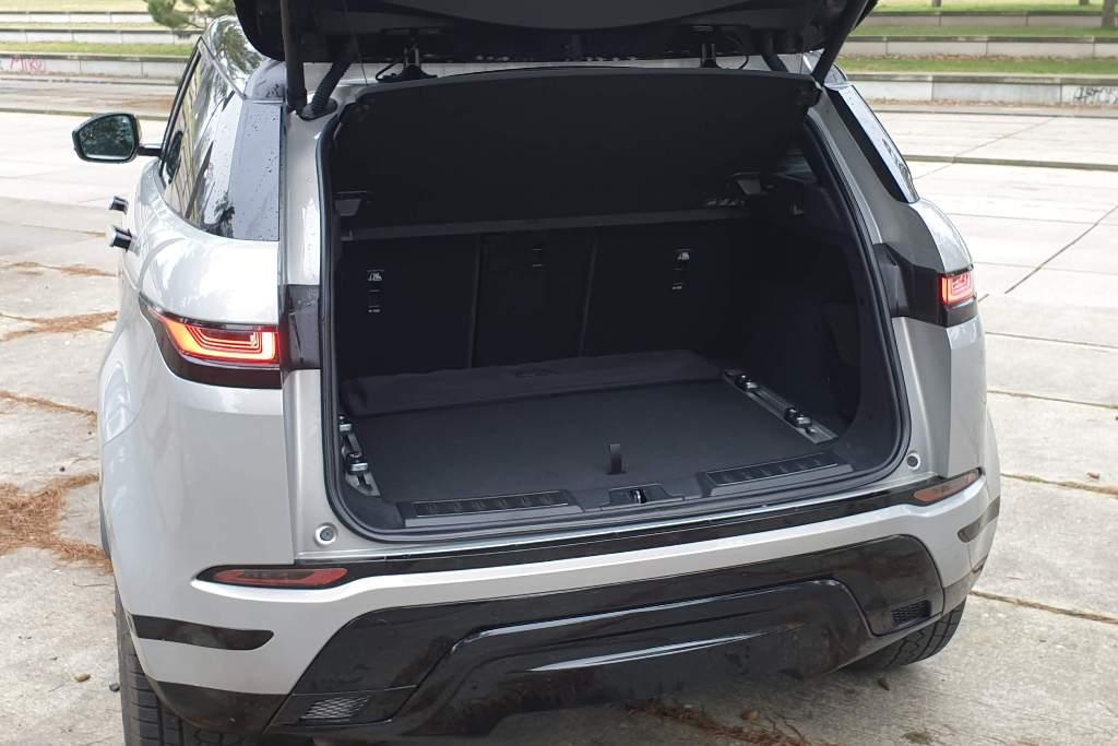 Kofferraum Range Rover Evoque
