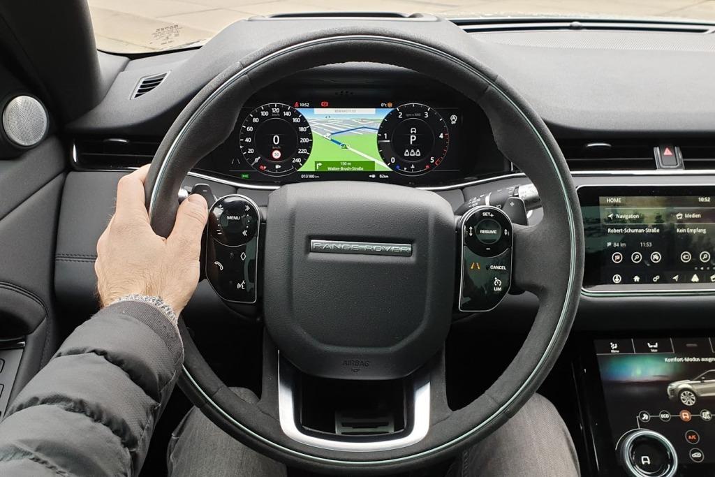 Fahrerperspektive