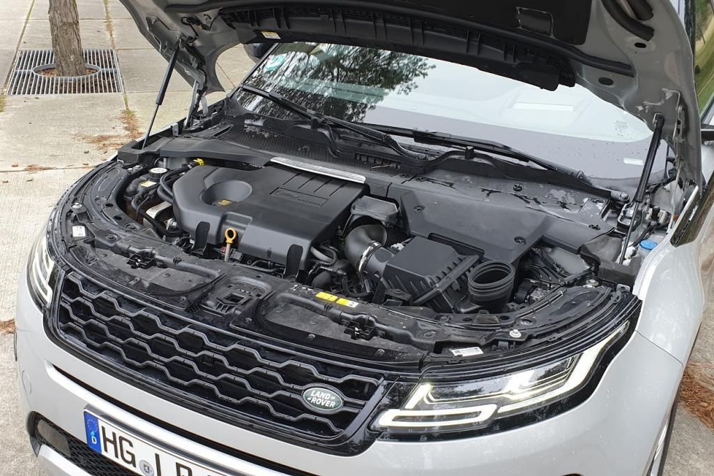 Antrieb: Range Rover Evoque D240