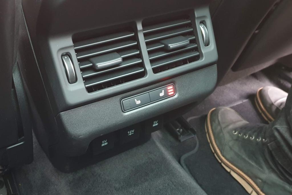 Sitzheizung hinten