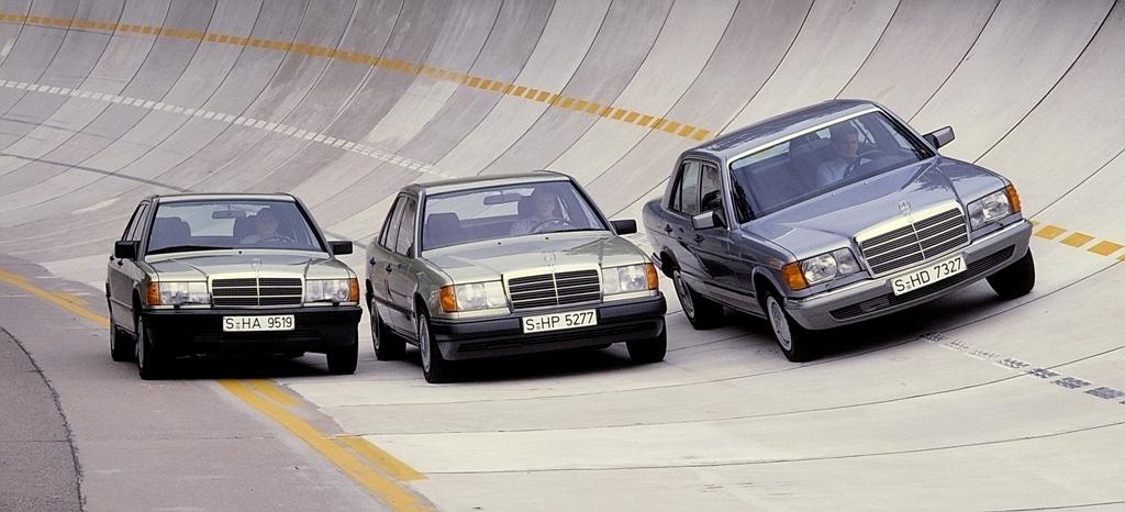 W201, W124, W126