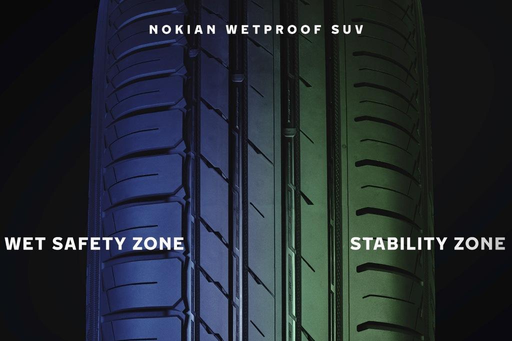 Wetproof SUV: Dual Zone