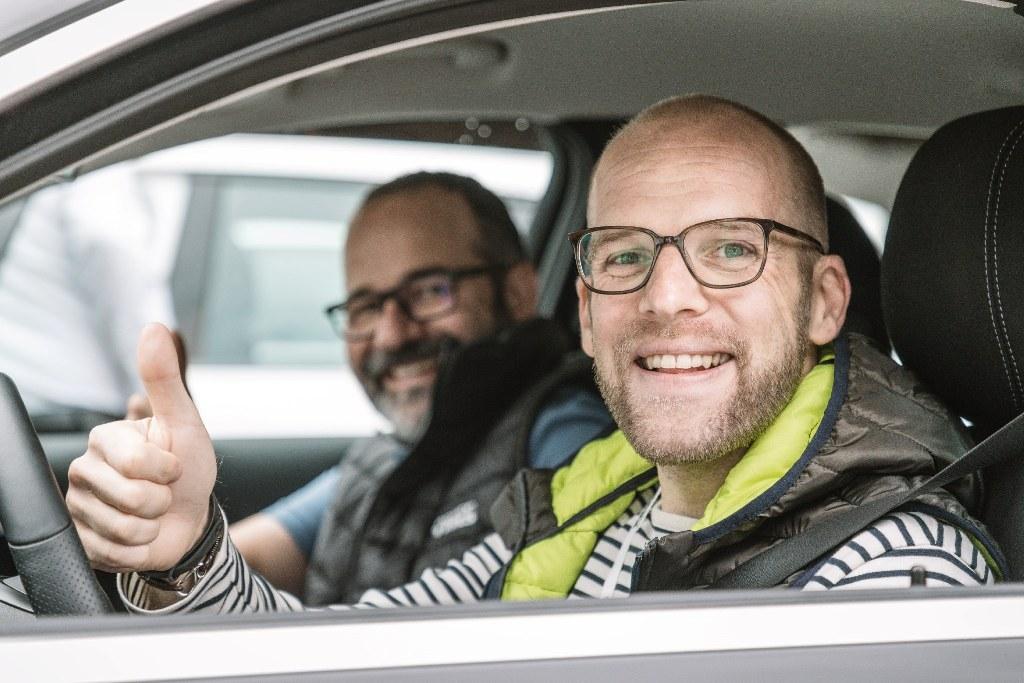 Oliver Walther und Daniel Przygoda