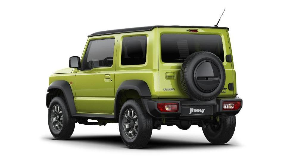 Suzuki Jimny in Kinetic Yellow